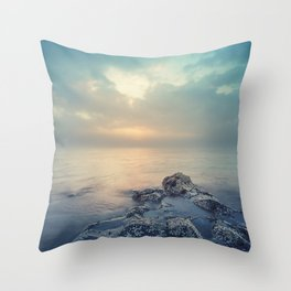 Barnacle Point Throw Pillow