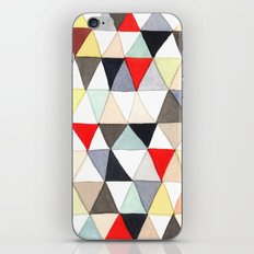 Geometric Pattern Watercolor & Pencil Robayre iPhone & iPod Skin