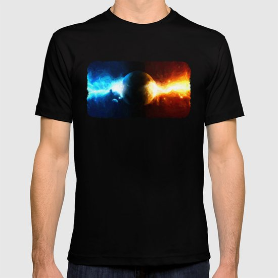 Galactic Countdown - Painting Style T-shirt