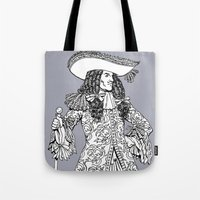spanish Tote Bags featuring Spanish Explorer by Tom Tierney Studios