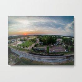 Above Arlington 10. Metal Print