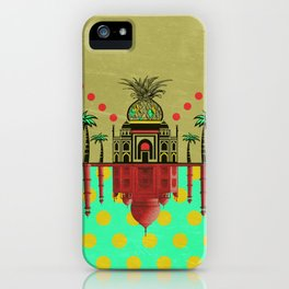 pineapple architecture 2 iPhone Case