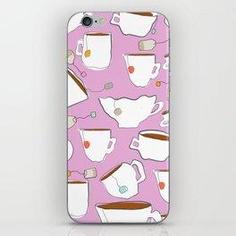 9732 Cups of Tea iPhone Skin