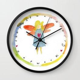 Post Card Fairies Wall Clock