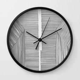 Pattern Abstract #2 Wall Clock