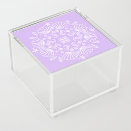 Lilac Mermaid Acrylic Box