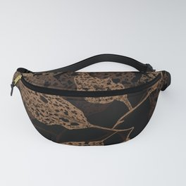 brown autumn Fanny Pack