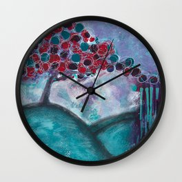 What Lies Ahead Wall Clock
