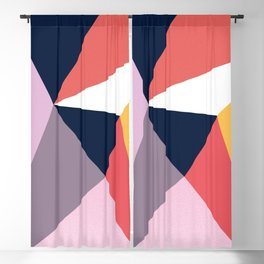 Modern Poetic Geometry Blackout Curtain