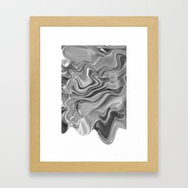 Blob Framed Art Print