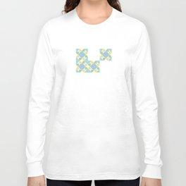 Bom Pattern Long Sleeve T-shirt