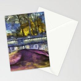 The Headless Horseman Bridge Van Gogh Stationery Cards