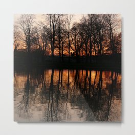 Dark Sunset Metal Print