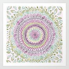 Intricate Spring Art Print