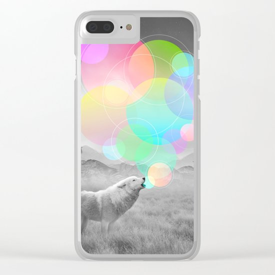 The Echoes of Silence Clear iPhone Case