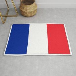 France Flag Shadow Rug