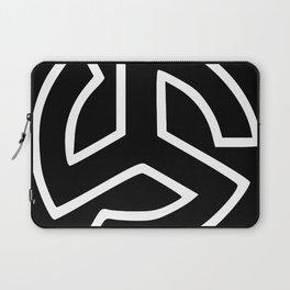 Triskelion Martial Heathen symbols Laptop Sleeve