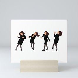 The Little Kicks Mini Art Print