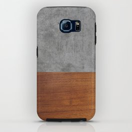 Concrete and Wood Luxury iPhone Case