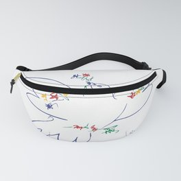 Picasso - Anti War - Dove of Peace Fanny Pack