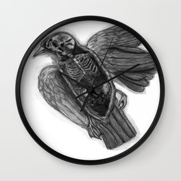 we are the birds Wall Clock