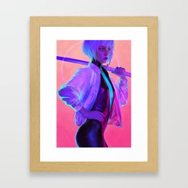 Tera Framed Art Print