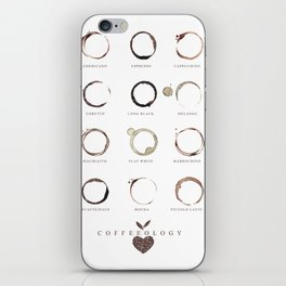 Coffee Stains iPhone Skin