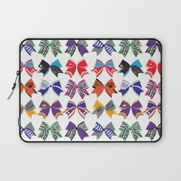 Cheerleading Lovely bow design Laptop Sleeve