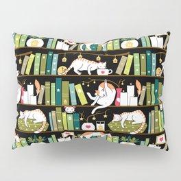 Library cats Pillow Sham