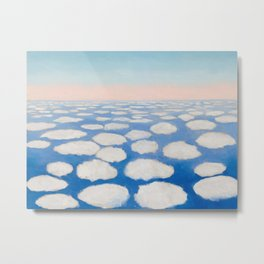 Georgia O'Keeffe Above the Clouds Metal Print