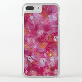 Everything is Rosey Clear iPhone Case