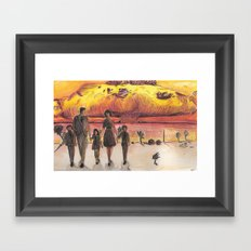 Nuclear Family Framed Art Print