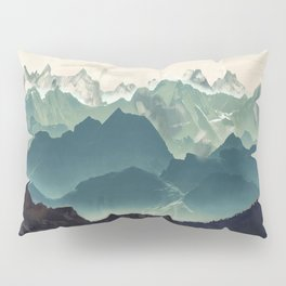 Shades of Mountain Pillow Sham