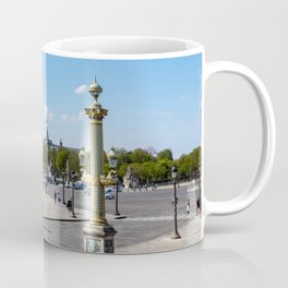 Place de la Concorde with great palace in background - Paris Coffee Mug