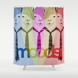 Lama Hipster Design Shower Curtain