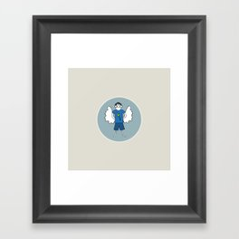 Guardian Angel Stevie Framed Art Print