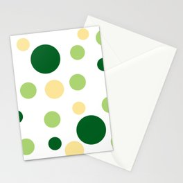 Green Pop Stationery Cards