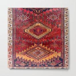 N200 - Berber Moroccan Heritage Oriental Traditional Moroccan Style Metal Print