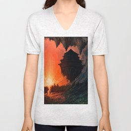 Feudal Cavern Unisex V-Neck