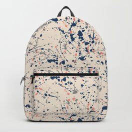Cream Splatter Backpack