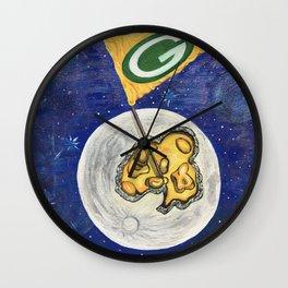 Packers dream Wall Clock