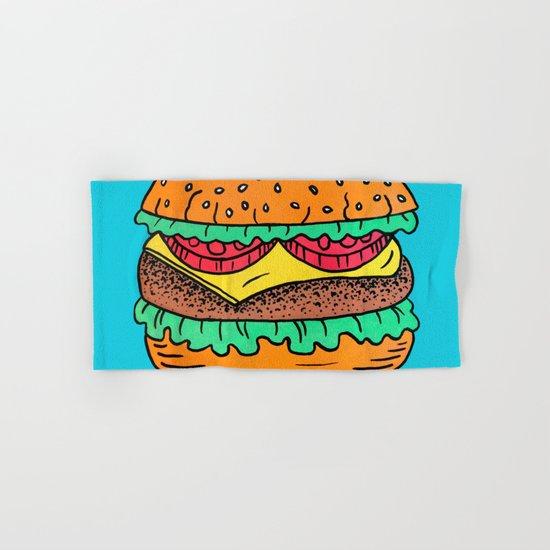 Burger Hand & Bath Towel