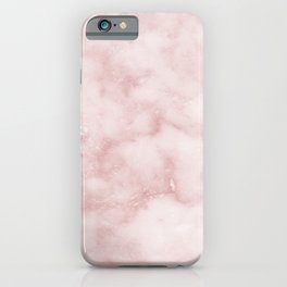 Sivec Rosa - cloudy pastel marble iPhone Case