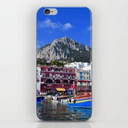 The Beach in Capri, Italy iPhone Skin