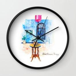 Blue Mansion Penang Wall Clock