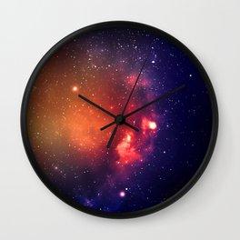 Starfield Wall Clock