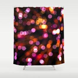 Fireworks Pink (Color) Shower Curtain