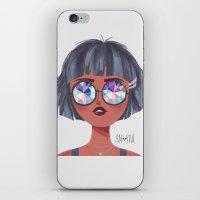 kaleidoscope iPhone & iPod Skins featuring Kaleidoscope by Anoosha Syed