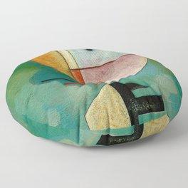 Kandinsky Upward Abstract Art Painting Floor Pillow