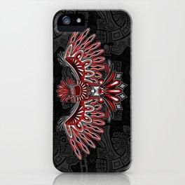 Eagle Tattoo Style Haida Art iPhone Case